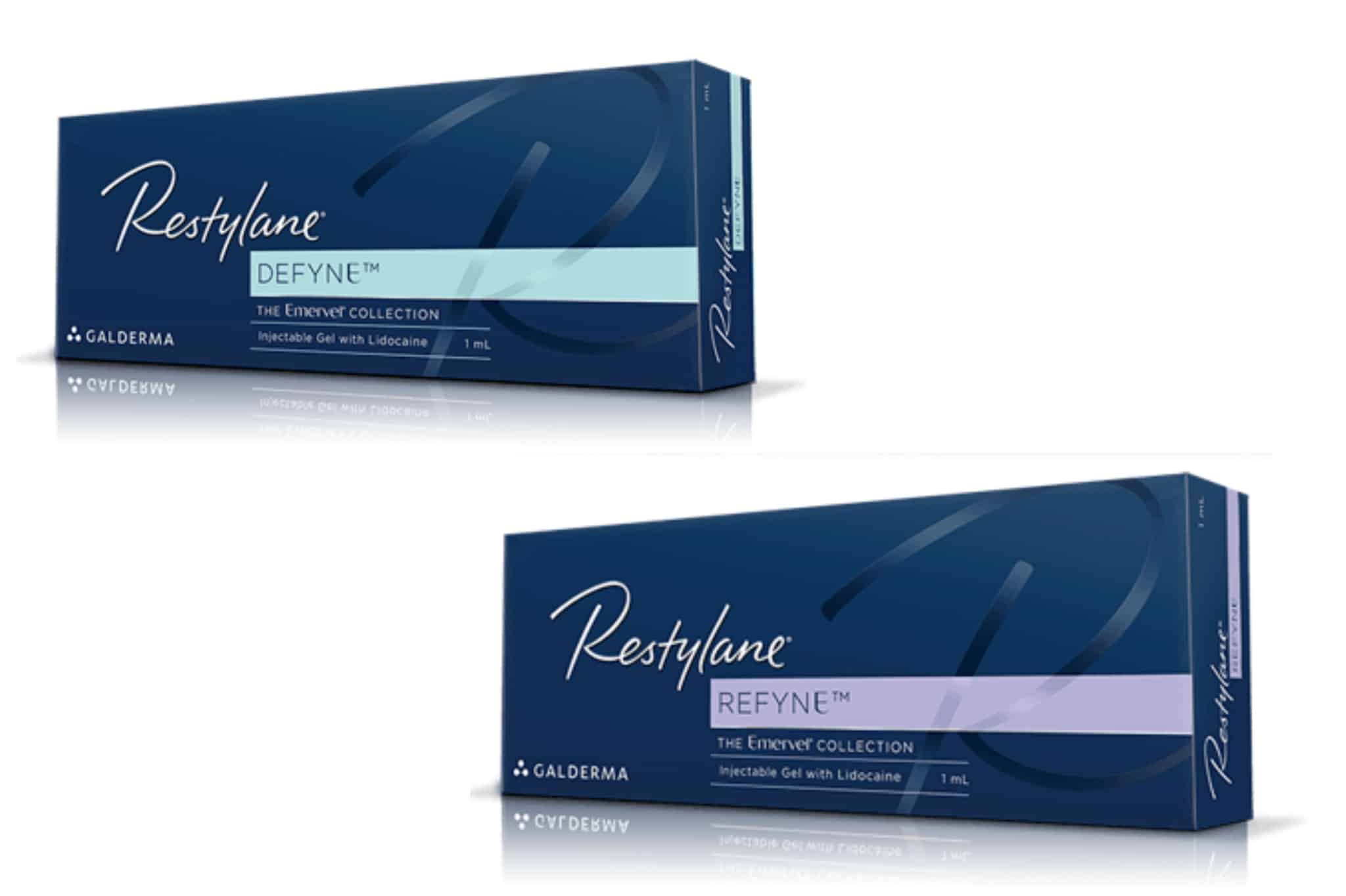 Restylane Defyne Refyne Cosmetic Injectables