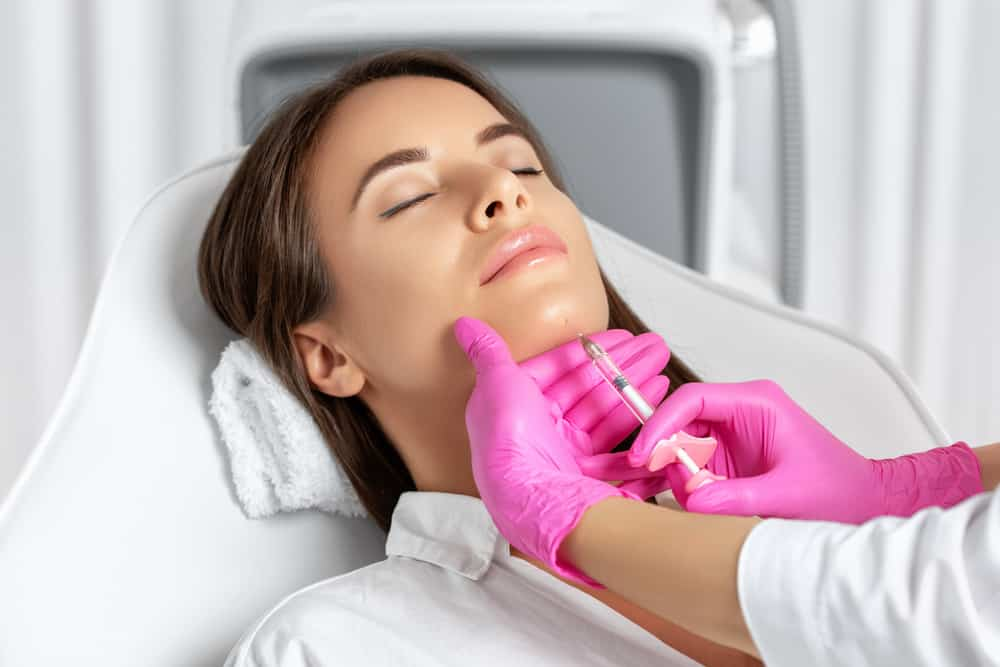 Cosmetic Injectables Chin Treatment