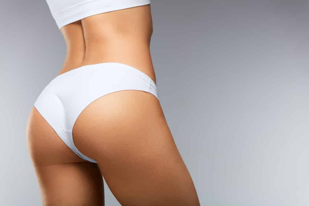 Woman Buttocks Cosmetic Injectables